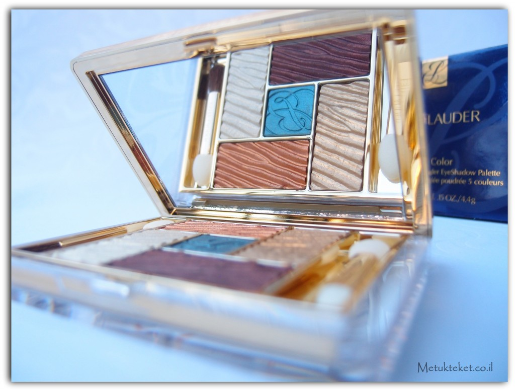 Estee Lauder-  Pure Color -Five Color Gelée Powder EyeShadow Palette צללית מיוחדת של אסתי לאודר