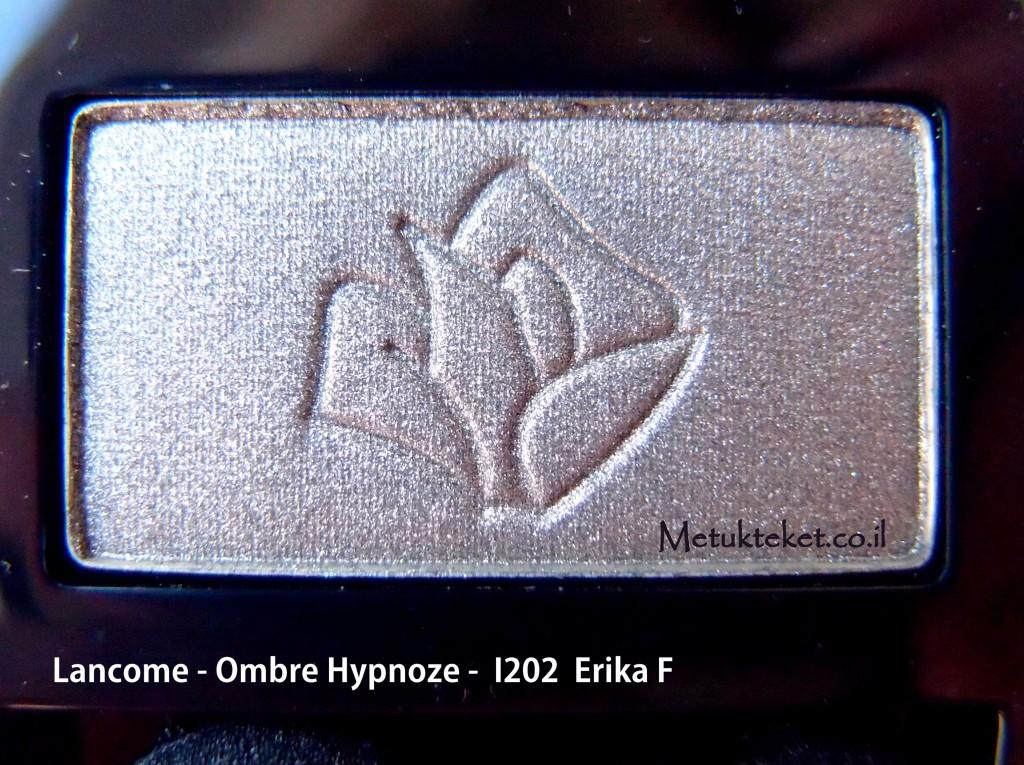 ירוק, צללית של לנקום, איפור עיניים  eyeshadow, Lancome - Ombre Hypnoze - I202 - Erika F