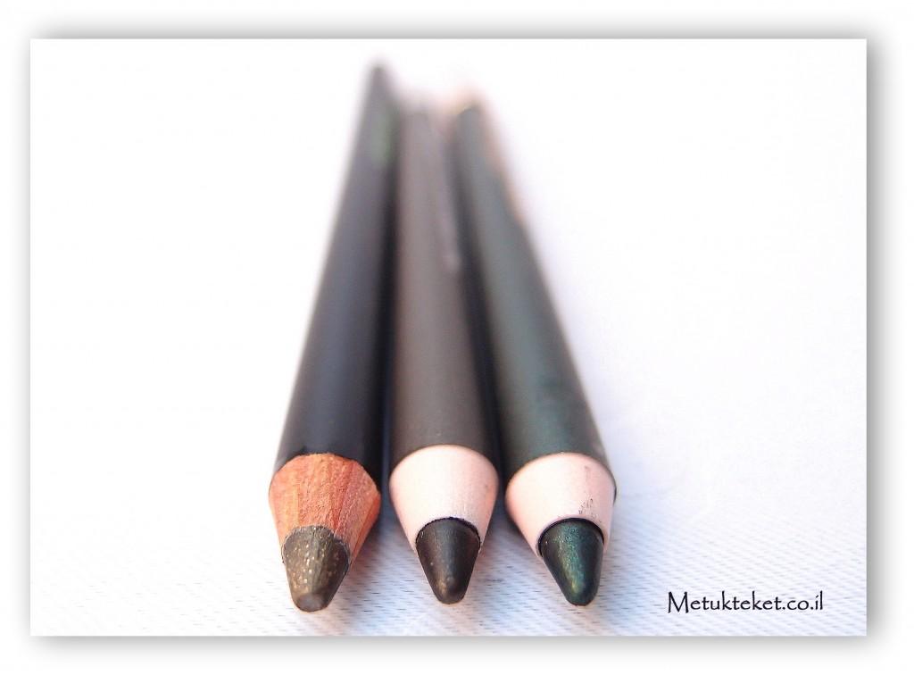 עפרון עיניים של אסתי לאודר, עפרון עיניים סיסלי, עפרון עיניים קליניק, Estee lauder, Clinique, Sisley