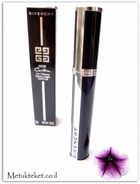 Noir Coture - 4 in 1 Mascara - Black Satin #1, Givenchy, mascara, גי'בנשי, מסקרה
