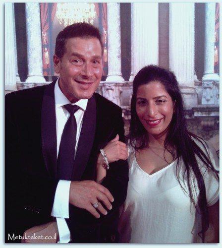 עם אריק אנטוניוני, מנהל ההדרכה הבינלאומי של קלרינס באירוע שנערך בביוטי סיטי.