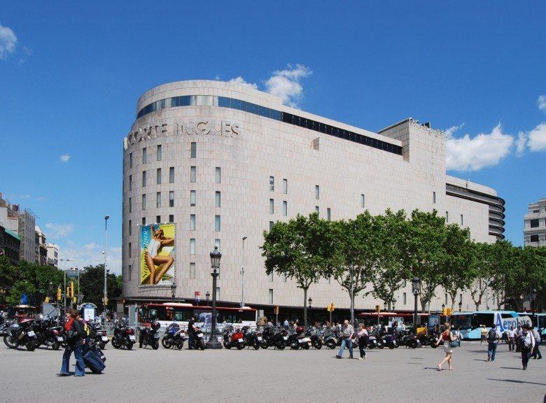 קניות, ברצלונה, אל קורטה אינגלס,