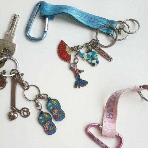 קניות, מחזיק מפתחות, מזכרת, ברצלונה