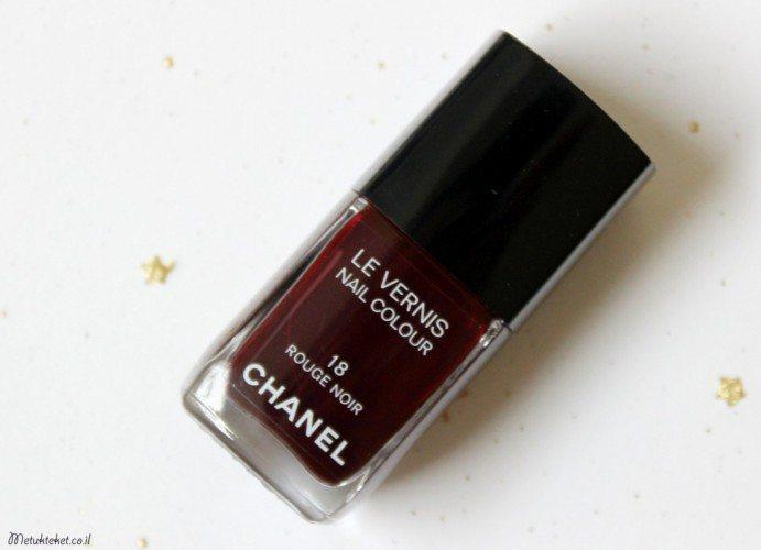 Le Vernis Nail Colour - 18 Rouge Noir