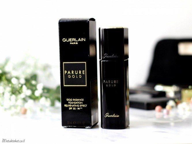 Guerlain Parure Gold Fluid Foundation Review