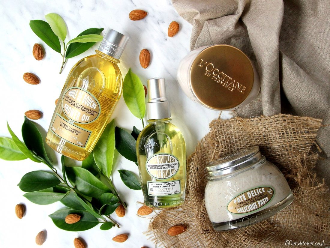 ל'אוקסיטן LOCCITANE, סדרת השקד, L'OCCITANE ALMOND COLLECTION