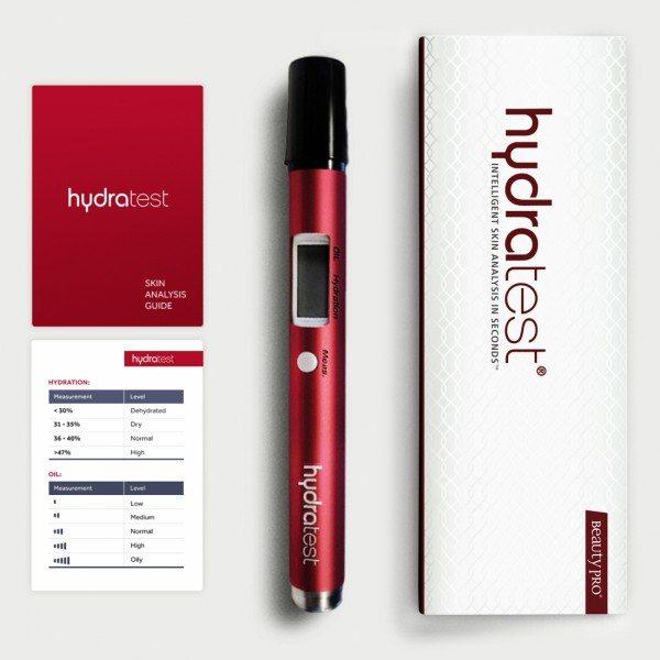 שירות חינם של סריקת עור בעזרת מוצר חדשני שפיתחו באליזבת ארדן שנקרא HydraTest