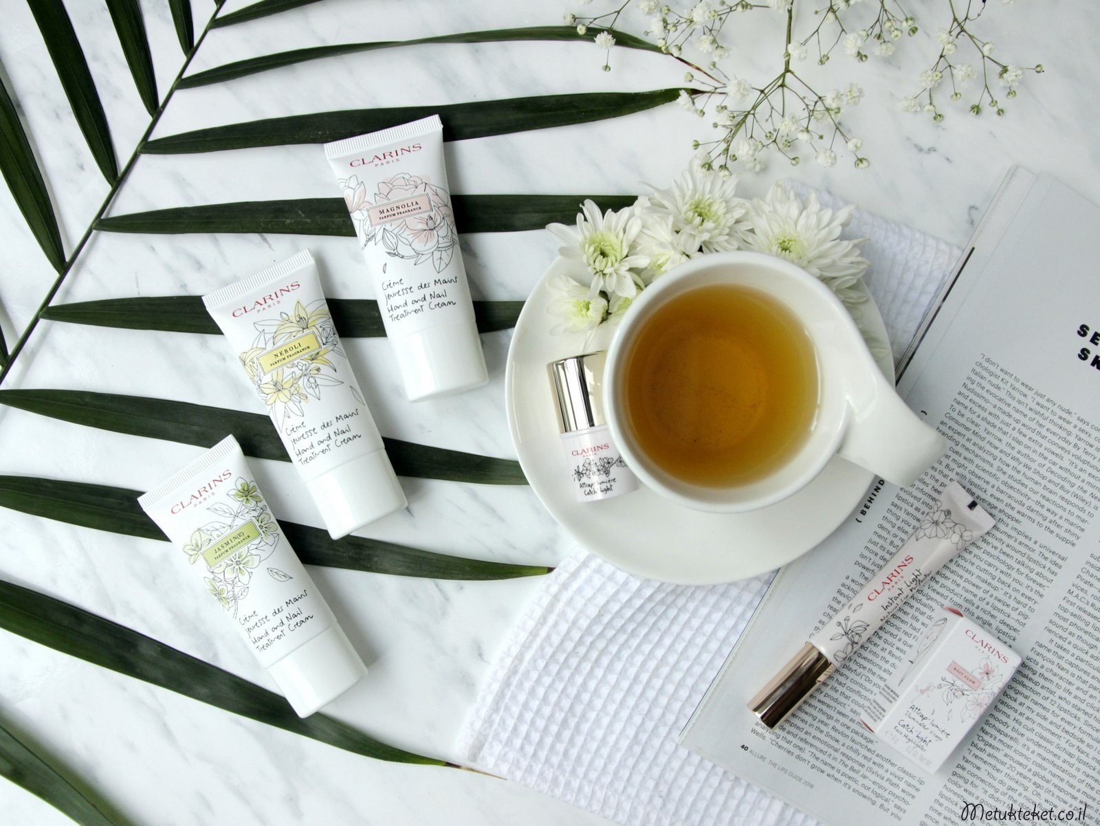 Clarins - White Flowers Collection