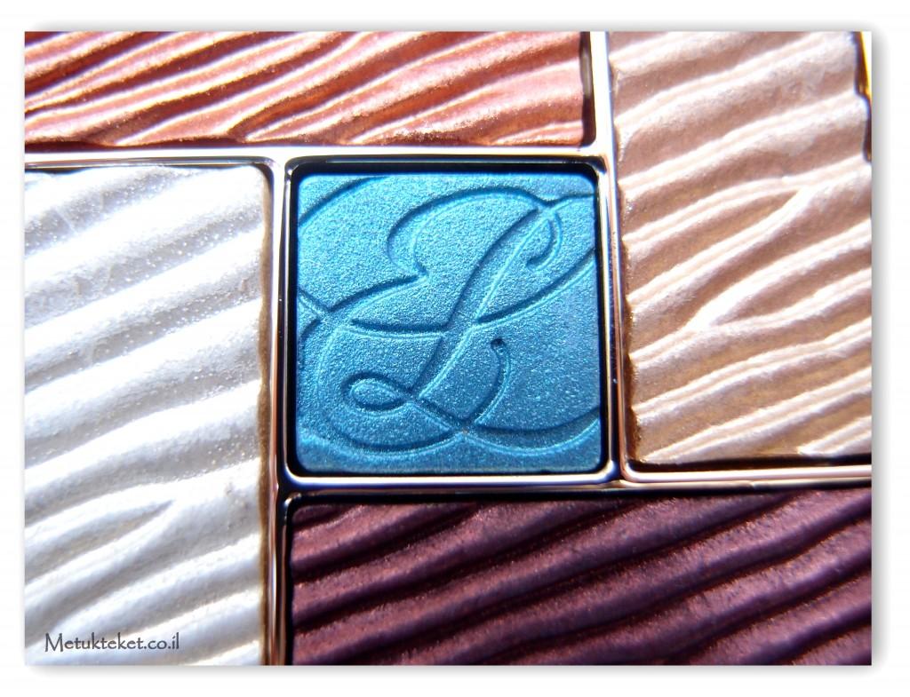 Estée Lauder Pure Color Five Color Gelée Powder EyeShadow Palette 01 Bronze Sands Cyber Metallic צללית מיוחדת של אסתי לאודר
