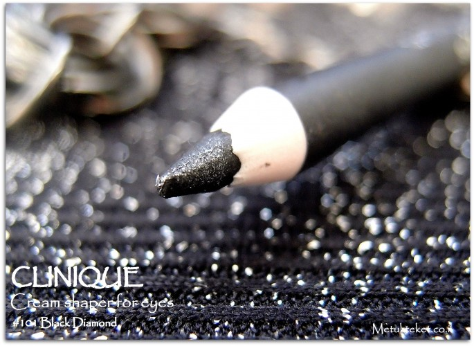 Clinique - Cream Shaper for Eyes - #110 Black Diamond