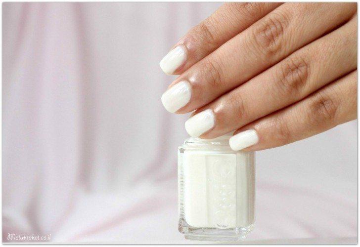 לק לבן, לק של אסי, essie, nails