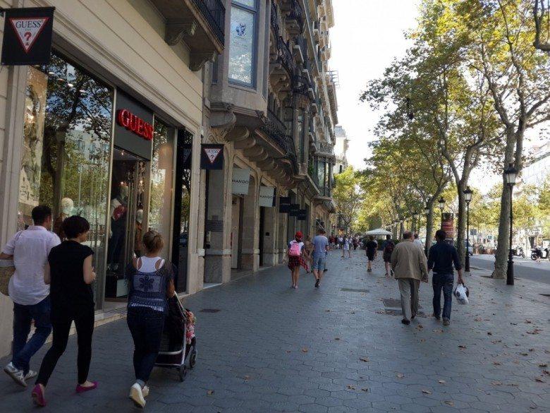 פסאו דה גרסיה – Passeig De Gracia ברצלונה