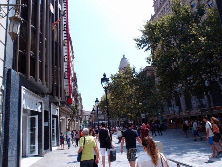 פורטל דל אנחל, ברצלונה