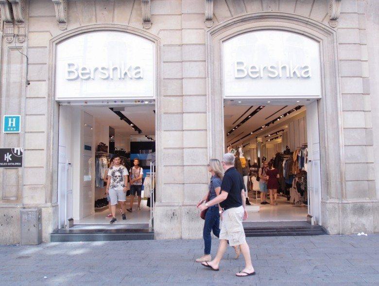 ברשקה, ספרד, ברצלונה, bershka