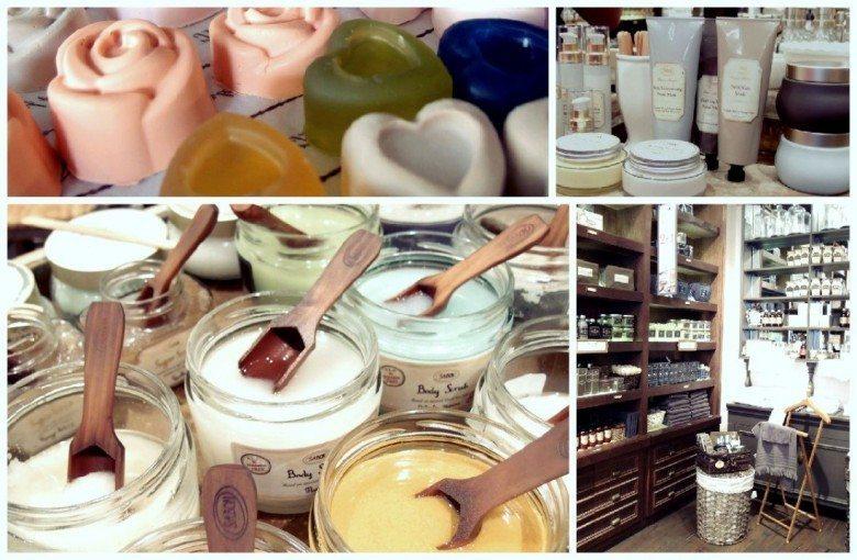 חנות הקונספט של סבון בשינקין תל אביב