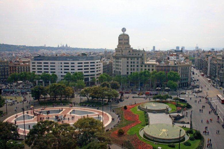 קניות, ברצלונה, Plaça_Catalunya, פלאזה קטאלוניה, ברצלונה