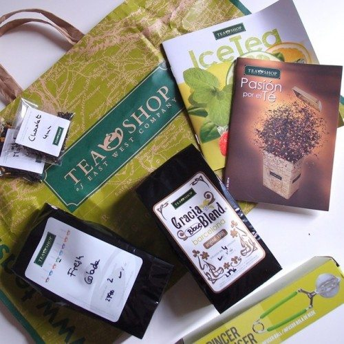 קניות, ברצלונה, תה, חליטה