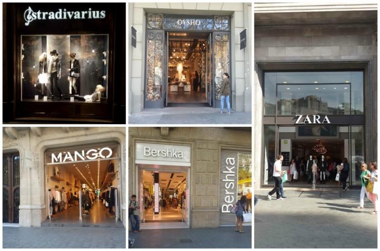 קניות, ברצלונה, מתוקתקת