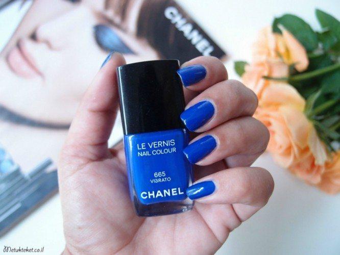לק כחול, לק, שאנל, כחול