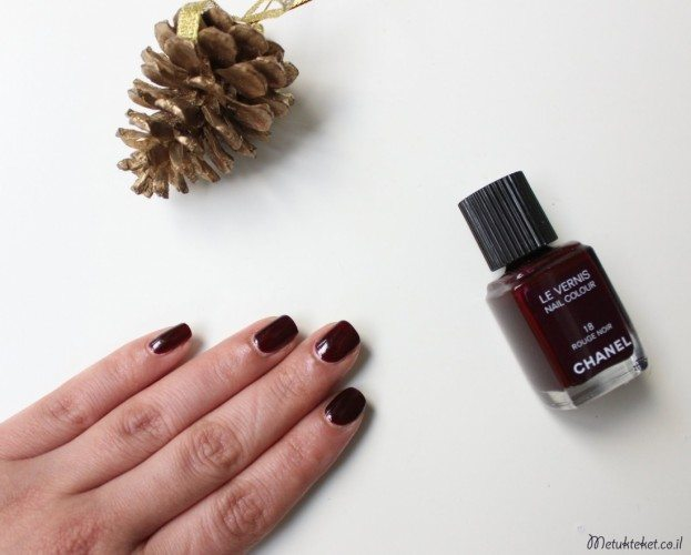 Le Vernis Nail Colour - 18 Rouge Noir