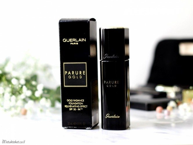 Guerlain Parure Gold Fluid Foundation Review