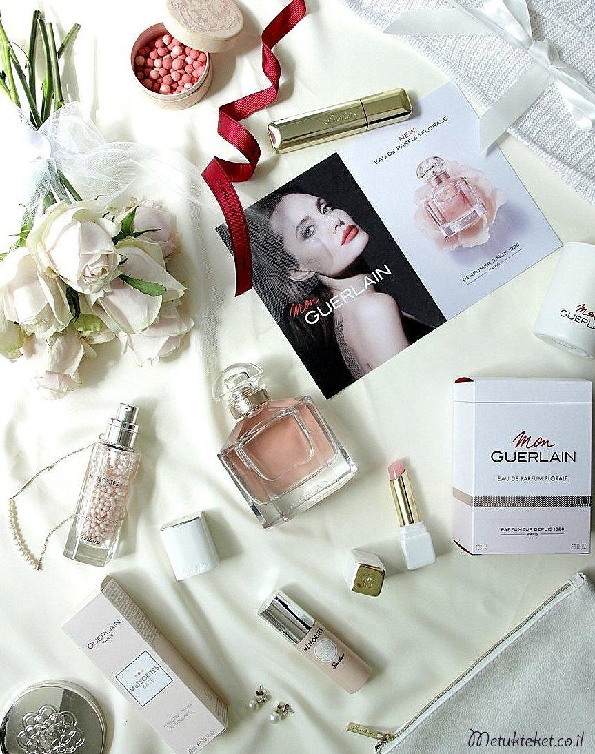 גרלן, בשמים, בושם, מומלץ, מתנות, חדש, אביב, קיץ, בלוג, מתוקתקת, מון גרלן, Mon Guerlain Eau De Parfume Florale, Guerlain